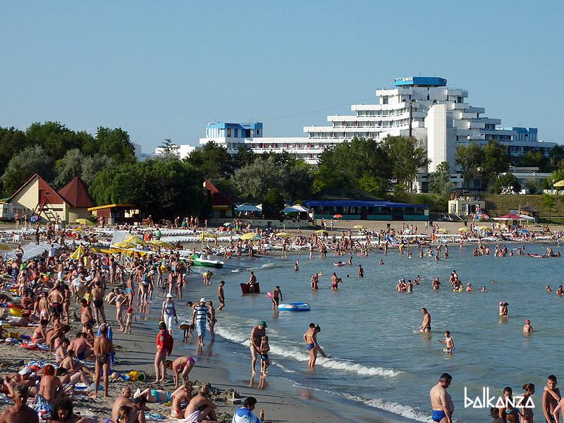 Пляж в Венусе, Румыния
