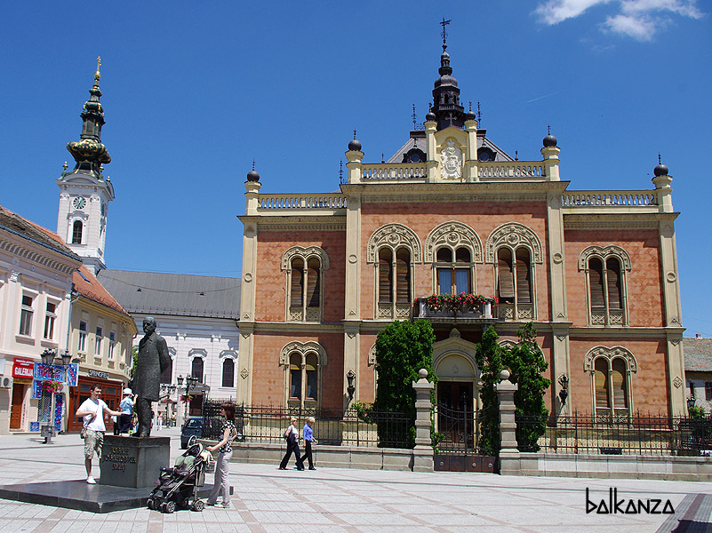 Дворец Епископа в Нови Саде, Сербия