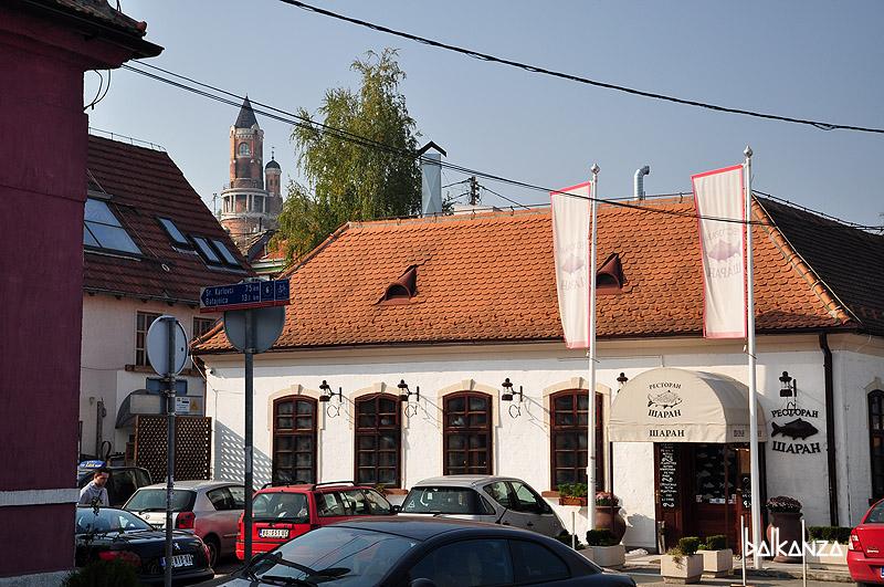 "Ресторан ""Шаран"" на набережной. Земун. Белград"