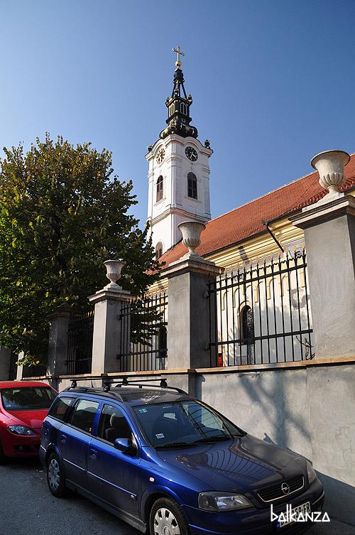 Церковь Святого Николая в Земуне. Белград