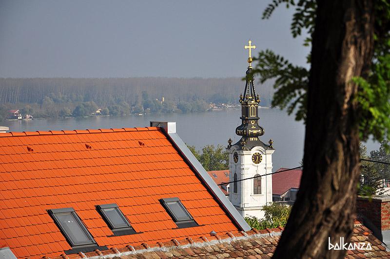 Церковь Святого Николая с холма Гардош. Земун. Белград