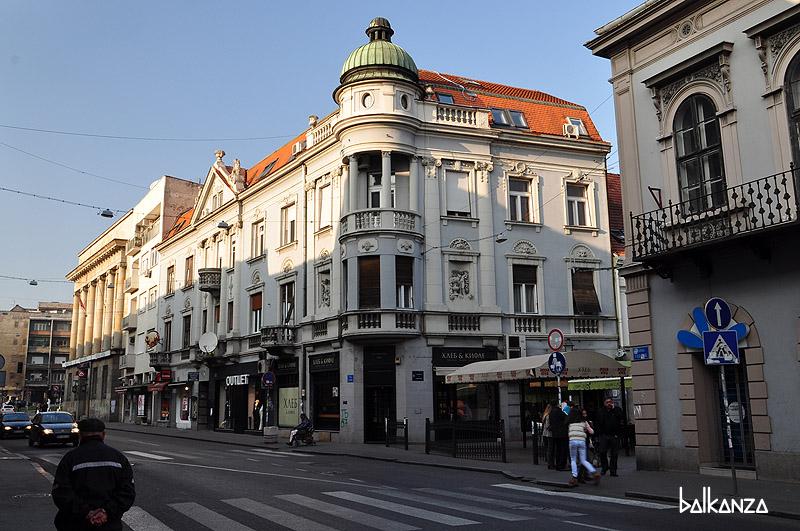 Домик на улице Главна в Земуне. Белград