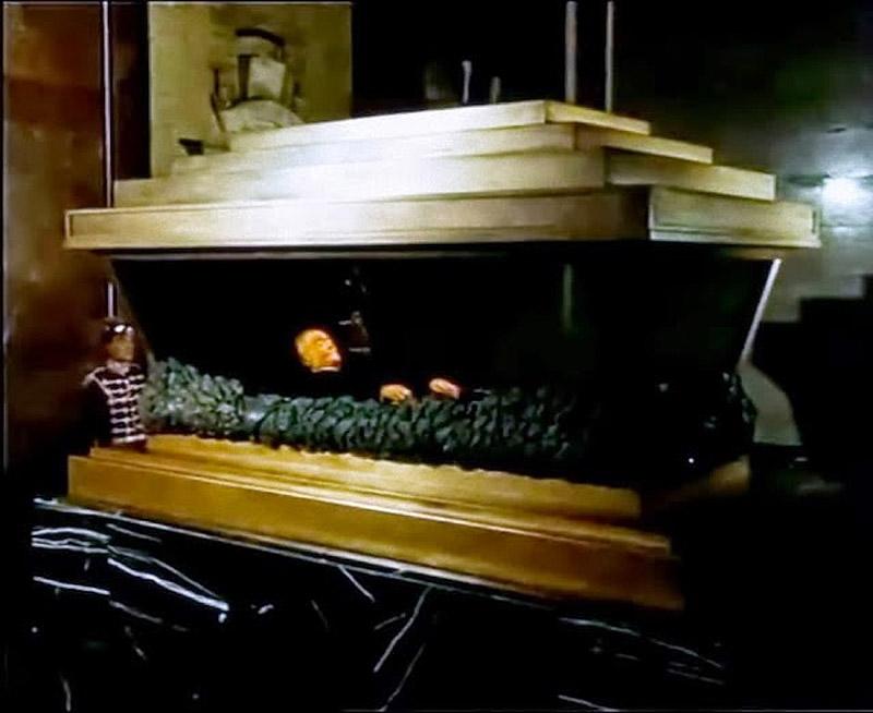 Саркофаг с телом Георги Димитрова, Болгария