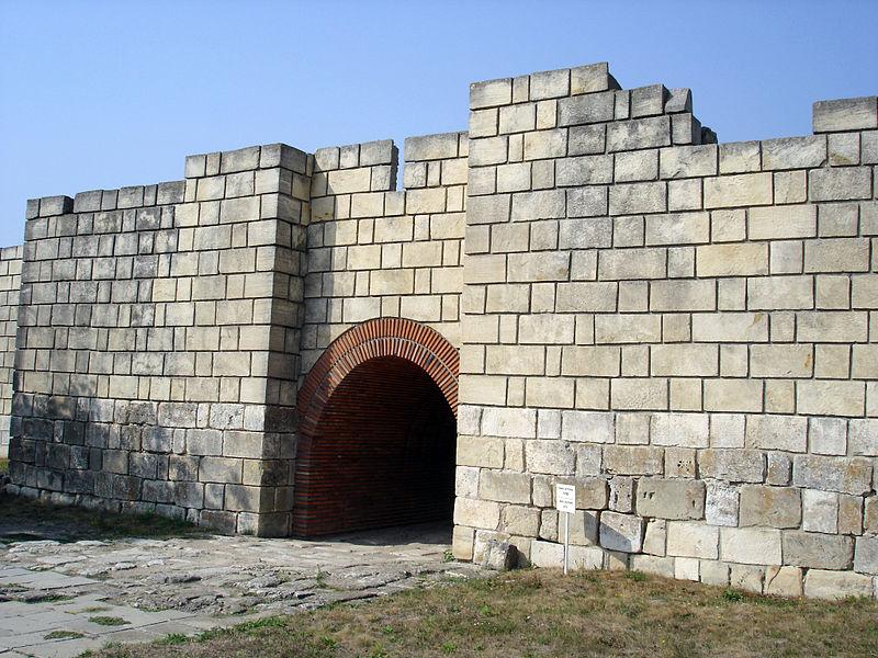 Старая болгарская столица Плиска