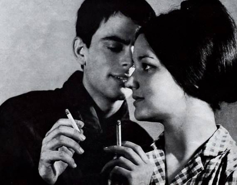 "Реклама сигарет ""Булгартабак"", 1967 г."